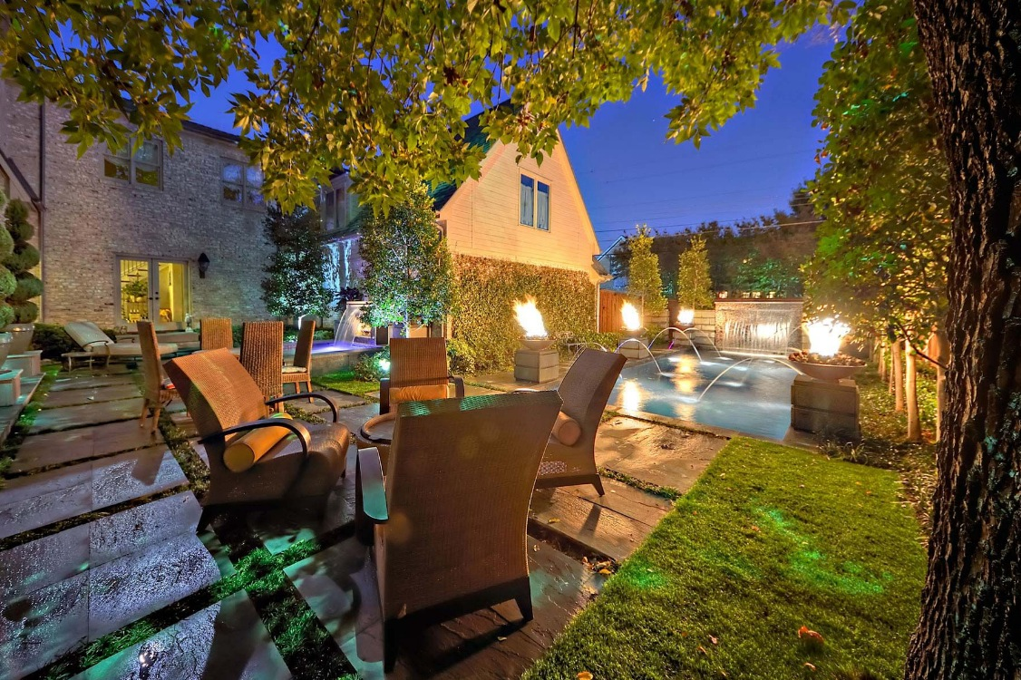 Outdoor Living Spaces by Harold Leidner on Backyard Living Area id=35159